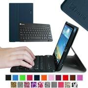 Fintie Wireless Bluetooth Keyboard Case for LG G PAD 8.3 Model V500/V510 (Wifi) & VK810 (Verizon 4G LTE), Navy