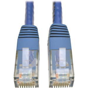 Tripp Lite Cat6 Gigabit Molded Patch Cable RJ45 M/M Blue 7 ft (Blu Cat6 Shielded Patch Cable)