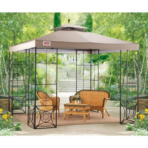 newest 99449 633c6 Garden Winds Replacement Canopy Top for Coleman Willow Gazebo - Riplock 350