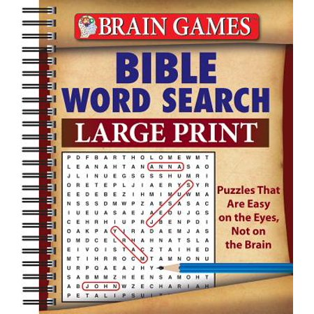 Halloween Words Search Games (Brain Games Bible Word Search Large)