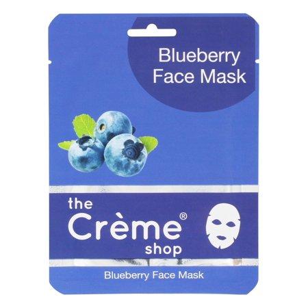 Korean Cosmetics The Creme shop 15 Sheet Face Mask multiple Type (Blueberry,Aloe,Pink