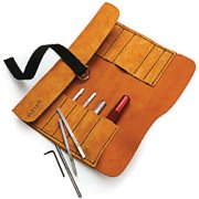 Robert Sorby #888Hs6ltr Micro Tool Set In Leather Roll
