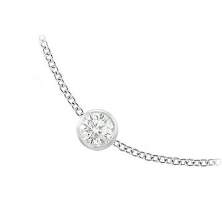 Five Station 5.00 ct Cubic Zirconia Necklace - image 6 of 8