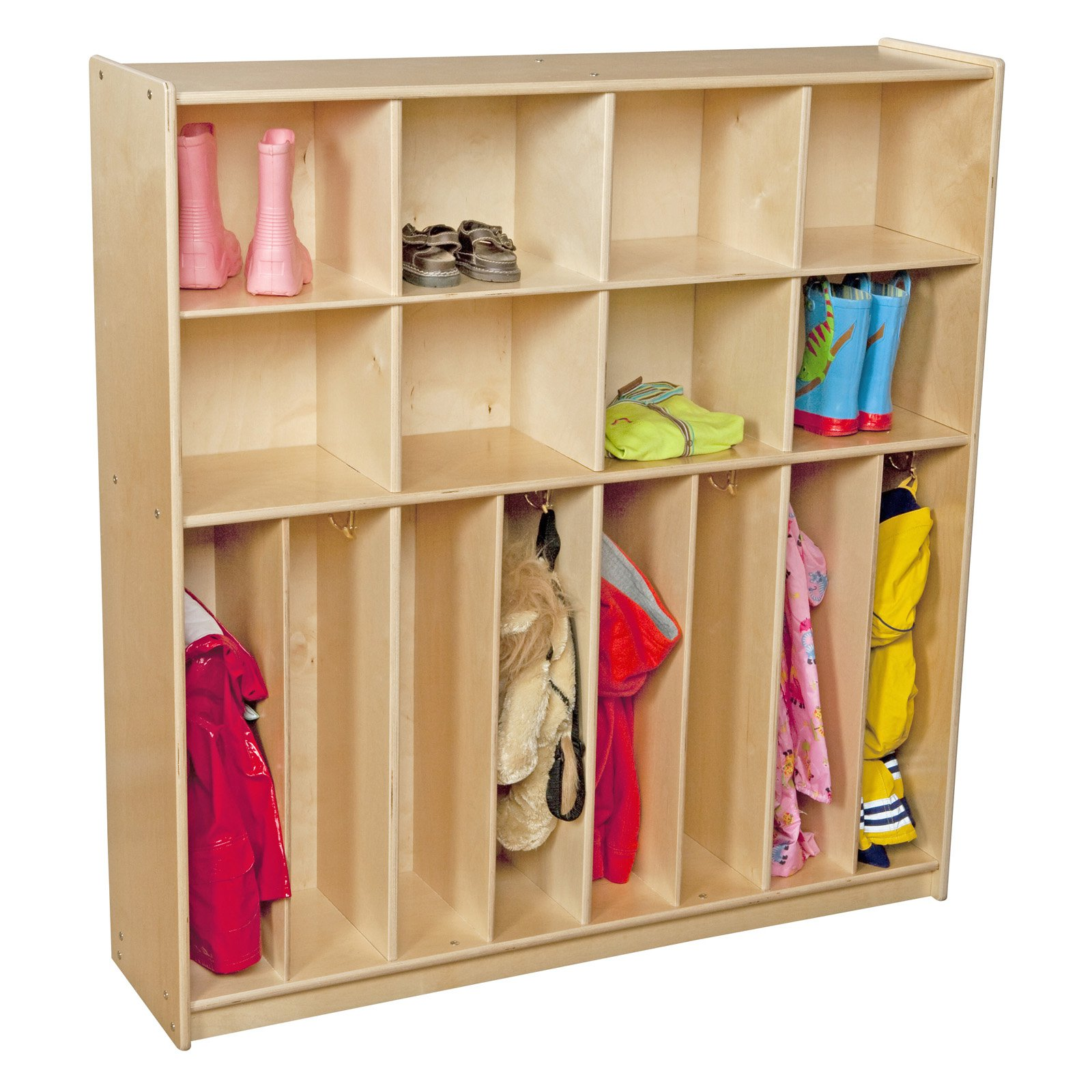 Wood Designs Contender 47 in. Baltic Birch Neat-n-Trim Lockers