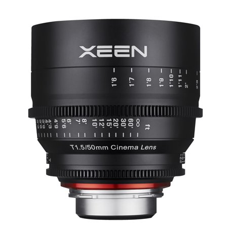 xeen by rokinon 50mm t1.5 professional cine lens for nikon f (Best Rokinon Cine Lens)
