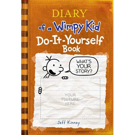 Diary of a wimpy kid do it yourself book walmart diary of a wimpy kid do it yourself book solutioingenieria