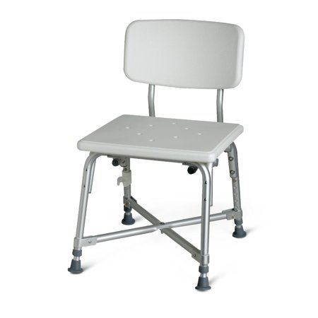 - Medline Heavy-Duty Bariatric Bath Chair -Height adjustable