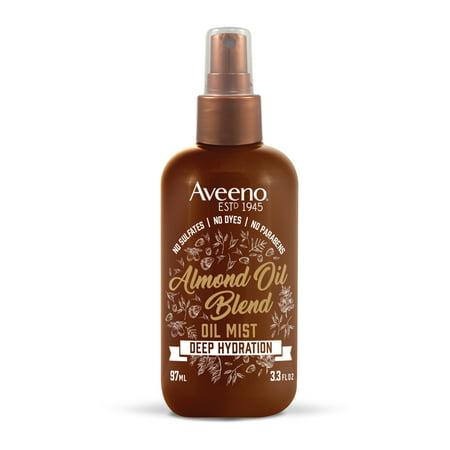 Aveeno Intense Hydration Almond Oil Hair Mist, 3.3 fl.