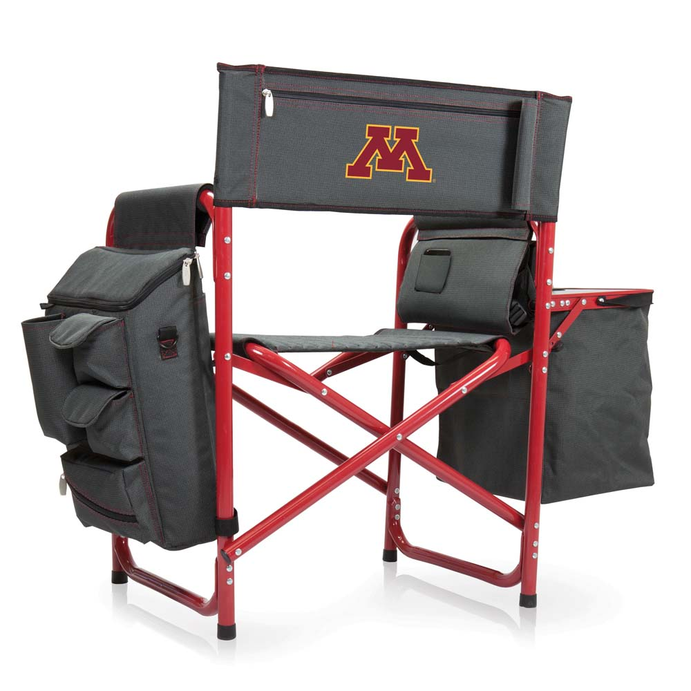 Minnesota Fusion Chair (Dk Grey/Red)