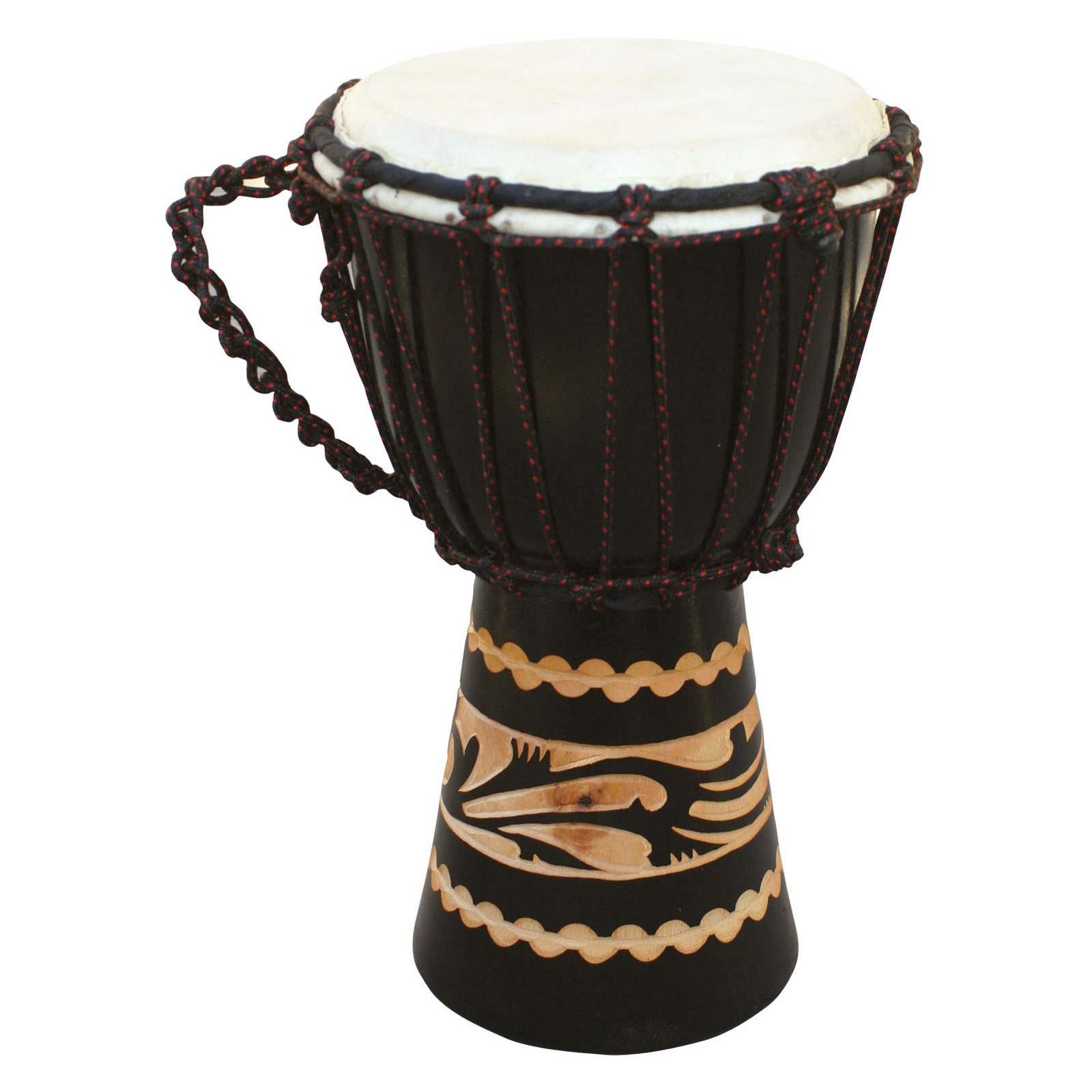X8 Drums Kalimantan Djembe Drum with Tote Bag