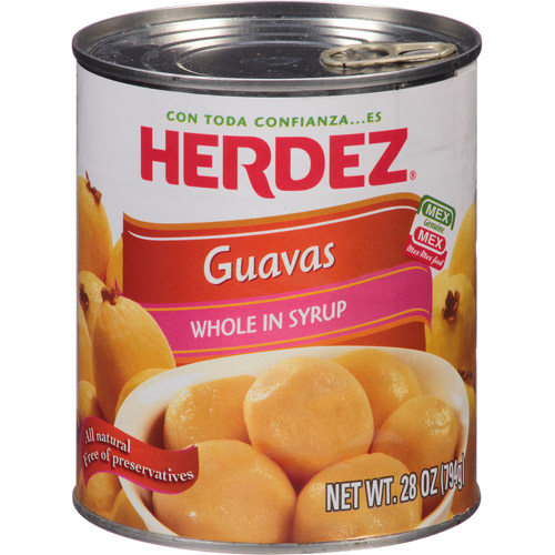 Herdez Whole Guavas in Syrup, 28 oz, (Pack of 12)
