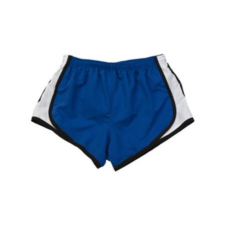 483cd424ccb Boxercraft - Boxercraft Girls  Velocity Running Shorts L Royal  Black   White - Walmart.com