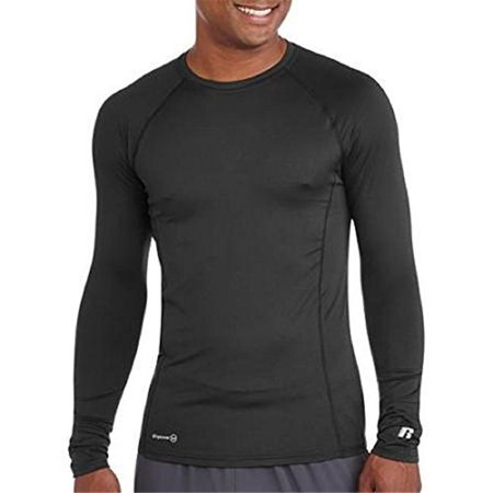 Baselayer Thermal Crew, Black & Steel Grey - Small - image 1 of 1