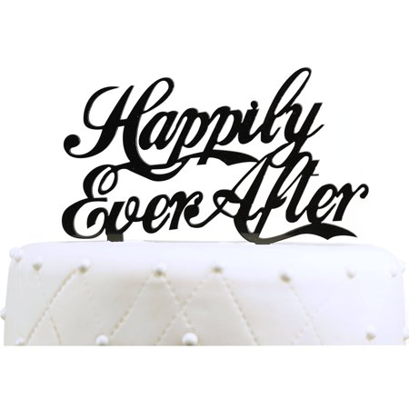 Happily Ever After Cake Topper (Unik Occasions