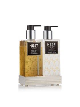 Nest Fragrances Liquid Soap & Hand Lotion Set with Tray (Grapefruit)