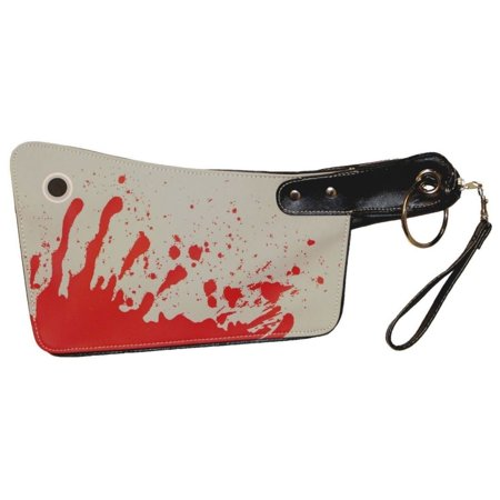 bloody cleaver hatchet kreepsville 666 halloween horror clutch purse handbag - Halloween Handbag