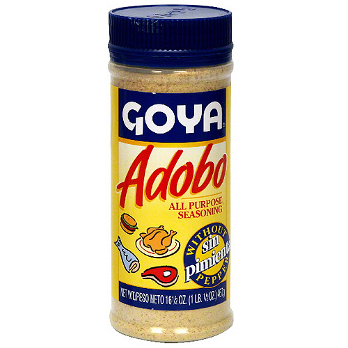 Goya Adobo Without Pepper, 16.5 oz (Pack of 24)
