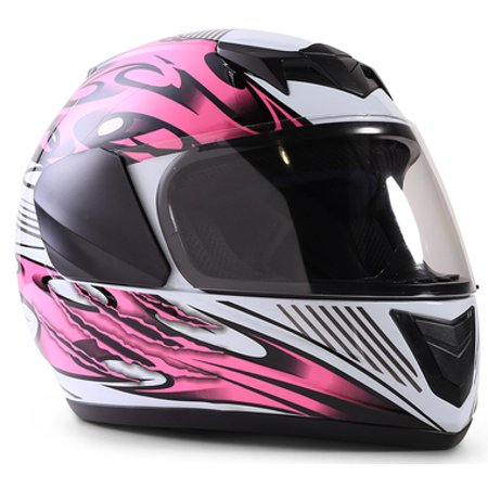 Typhoon Youth Full Face Pink Helmet Size Small
