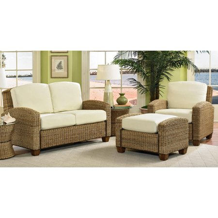 Cabana Banana Honey Chair, Ottoman, and Love Seat