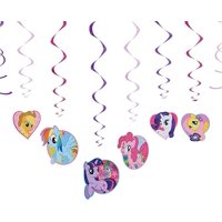 My Little Pony Hanging Party Decorations, 12pc