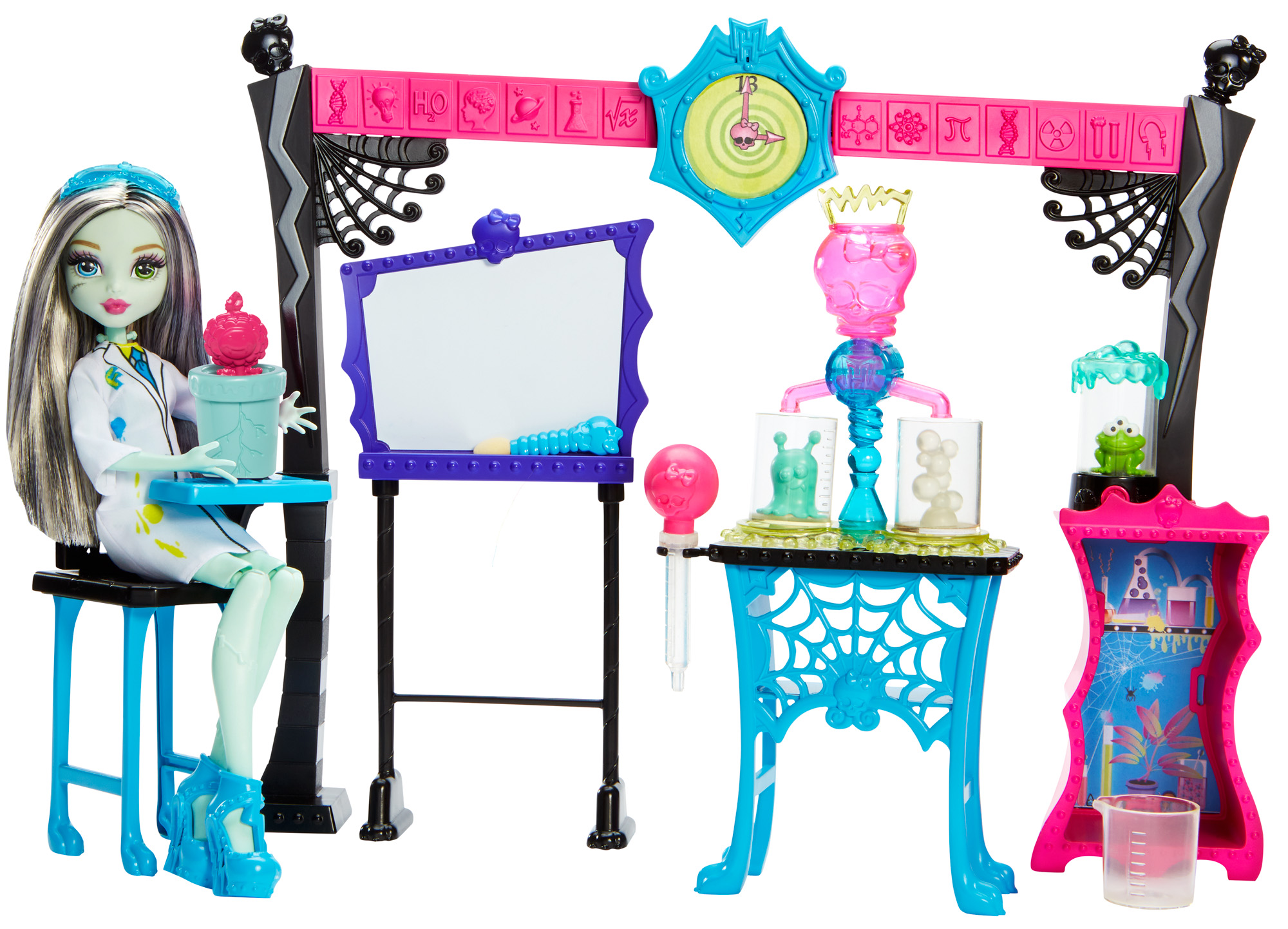 Monster High Skulltimate Science Class Playset W  Doll by MATTEL INC.
