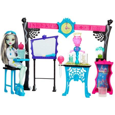 Monster High Skulltimate Science Class Playset W/ Doll - Monster High Walmart