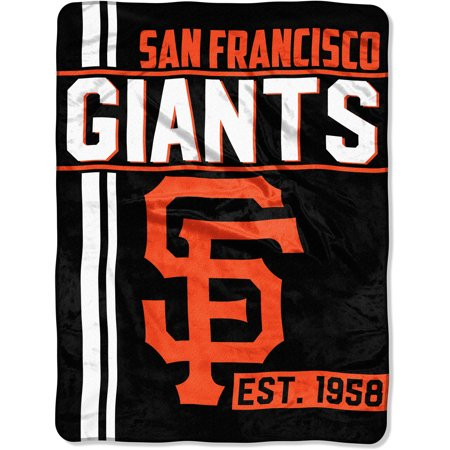 "MLB San Francisco Giants ""Walk Off"" 46""x 60"" Micro Raschel Throw](Mlb Shop Nyc)"