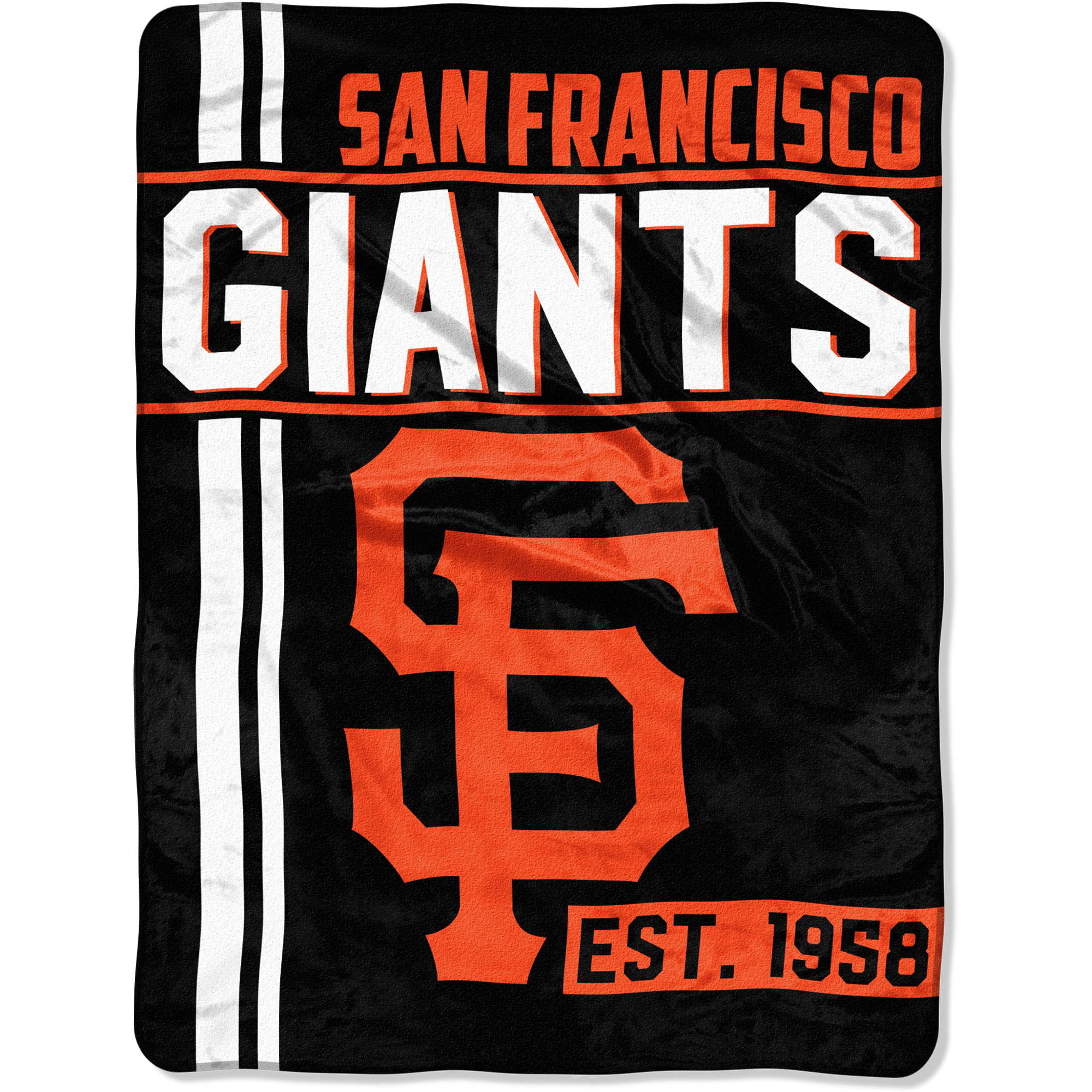 "MLB San Francisco Giants ""Walk Off"" 46""x 60"" Micro Raschel Throw"