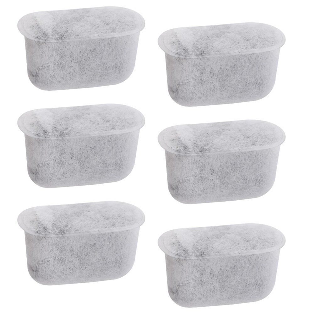6-Pack Replacement Charcoal Water Filters for Cuisinart Coffee Machines