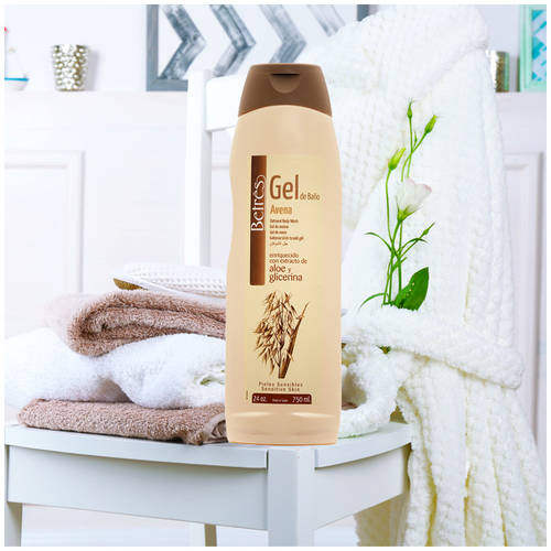 Betres Aloe & Glycerin Oatmeal Body Wash, 24 oz