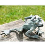 SPI Home Mama and Baby Garden Frogs Statue