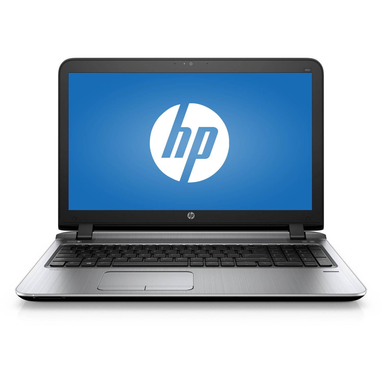 "HP Business 15.6"" ProBook 450 G3 T1B70UT Laptop PC with Intel Core i5-6200U Processor, 8GB Memory, 500GB Hard Drive and Windows 7 Professional"