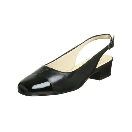 Trotters Womens Dea Leather Square Toe SlingBack Classic Pumps - image 2 of 2