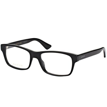 Gucci GG0006O 005 Unisex Rectangle Eyeglasses (Gucci Brille Frames Für Frauen)