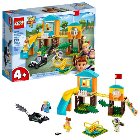 LEGO 4+ Toy Story 4 Buzz & Bo Peep's Playground Adventure