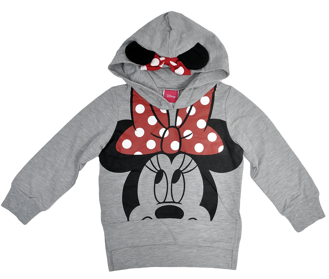 Disney Minnie Mouse Toddler Girls Hoodie Sweatshirt by Jerry Leigh