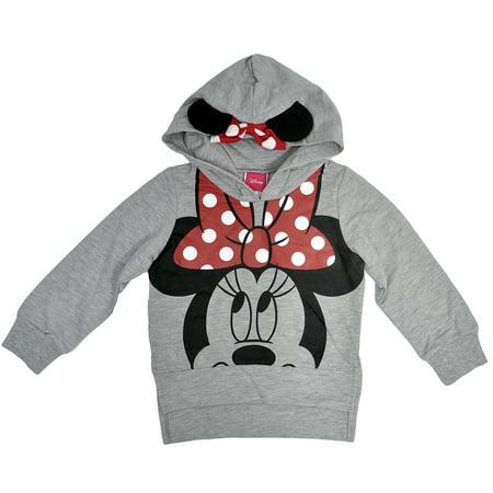 Disney Minnie Mouse Toddler Girls Hoodie Sweatshirt 3T