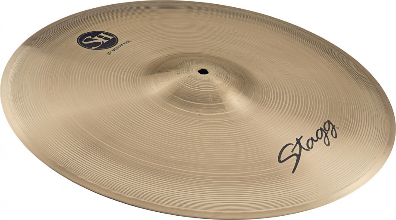 """Stagg SH-RM24R SH Series 24"""" Medium Ride Cymbal by Overstock"""