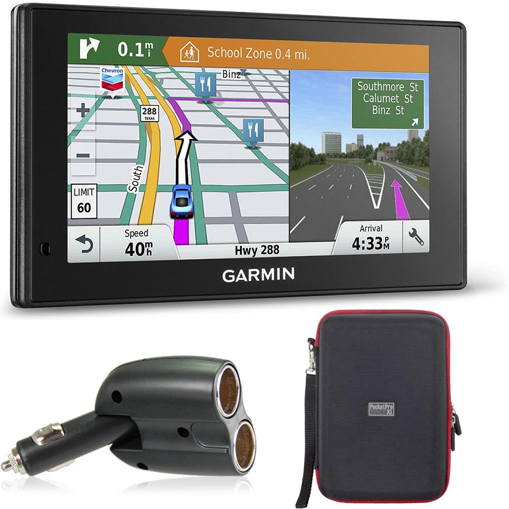 Garmin 010-01540-01 DriveSmart 60LMT GPS Navigator Charge...