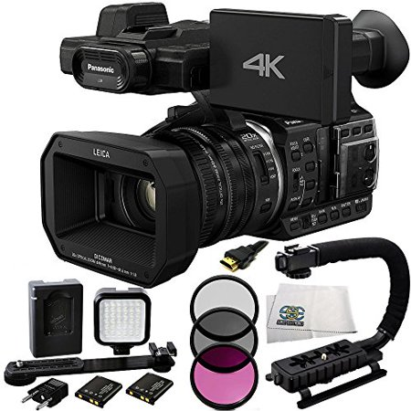 Panasonic HC-X1000 4K-60p/50p Camcorder with High-Powered 20x Optical Zoom and