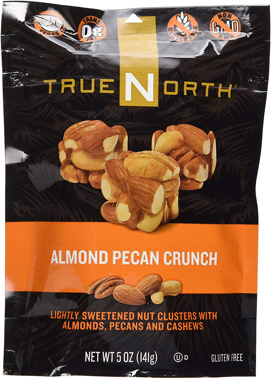 6 PACKS : TRUE NORTH CHOC NUT CRUNCH ALMND PCA, 5 OZ