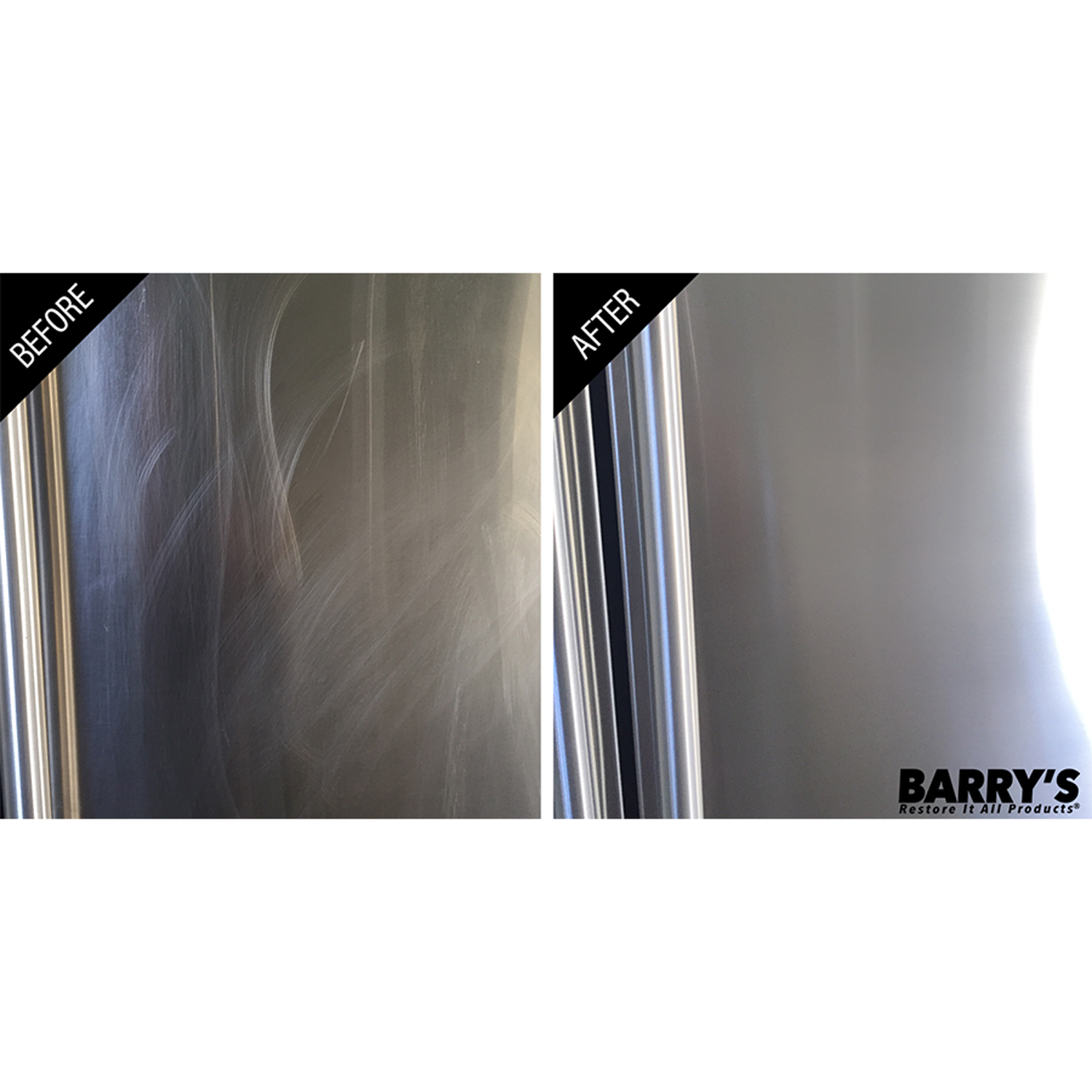 Barry/'s Restore It All Products Scratch-B-Gone for Stainless Steel Small Area