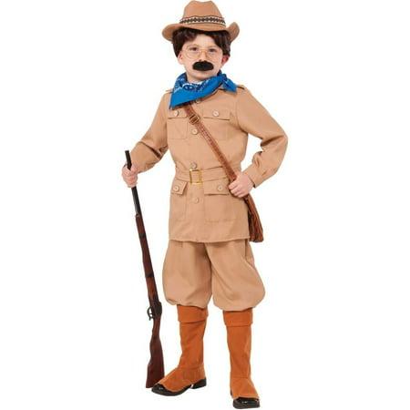 Boys Teddy Roosevelt (Theodore Roosevelt Costume)