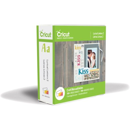 Lyrical Letters 2 Cartridge, Use with all Cricut electronic cutting machines By Cricut ()