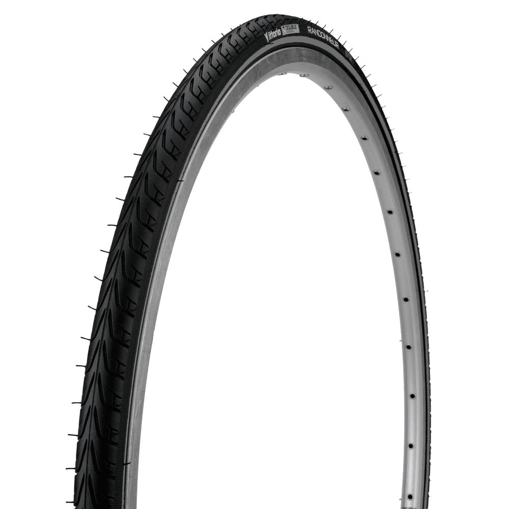 Vittoria Randonneur II noir//réfléchissant taille 700x32c Cross//Hybride Vélo Pneu
