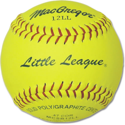 MacGregor Little League Softballs, 1 Dozen by MacGregor