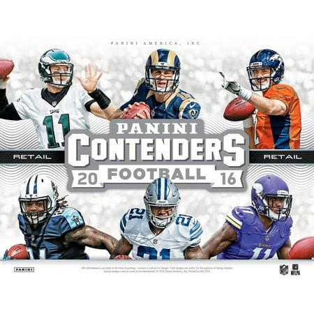 2016-17 PANINI NFL CONTENDERS VALUE BOX