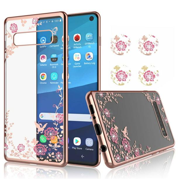 Galaxy S10e Cases Njjex Cute For Girls Glitter Bling Diamond