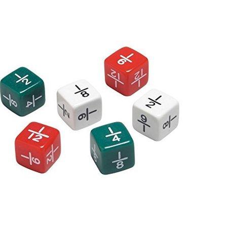 Fraction Dice Set (Didax Fraction Dice 6 Piece Set )