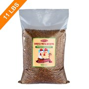 11 LBS Bulk Dried Mealworms for Wild Birds, Chichens, Duck etc